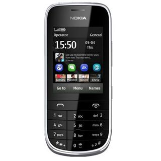 Nokia Asha 203 64 MB grau