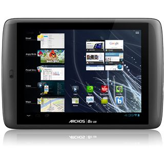 "8.0"" (20,32cm) Archos 80 G9 Turbo WiFi/Bluetooth V2.1 +EDR 250GB schwarz"