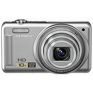 Olympus D-720 silber 14 MP, 10x opt.Zoom, 7,6cm LCD, HD Movie