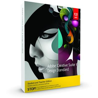 Adobe Creative Suite 6.0 Design Standard Deutsch Grafik EDU-Lizenz