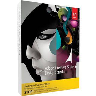 Adobe Creative Suite 6.0 Design Standard 64 Bit Englisch Grafik EDU-Lizenz PC (DVD)