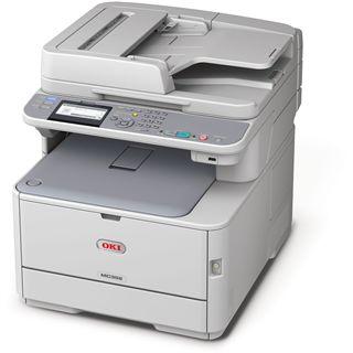 OKI MC352dn Farblaser Drucken/Scannen/Kopieren LAN/USB 2.0