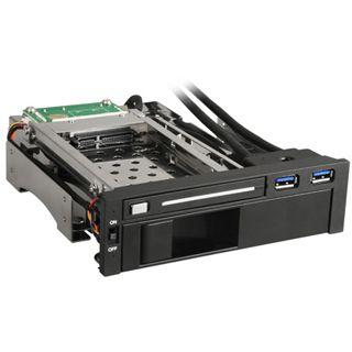"""Sharkoon SATA Quickport Intern Multi Wechselrahmen für 2.5"""" und 3.5"""" Festplatten (4044951012640)"""