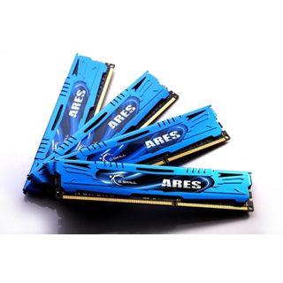 32GB G.Skill Ares DDR3-1866 DIMM CL10 Quad Kit