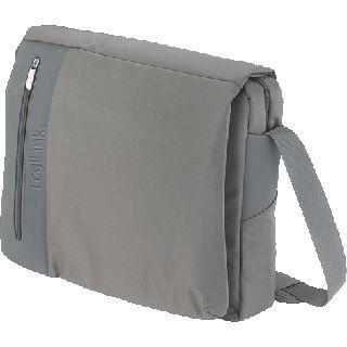 """Logilink Notebooktasche grau mit Schultergurt bis 15,6"""" (39,62cm)"""