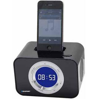 Blaupunkt iClock10BK Uhrenradio mit iPod Dock schwarz