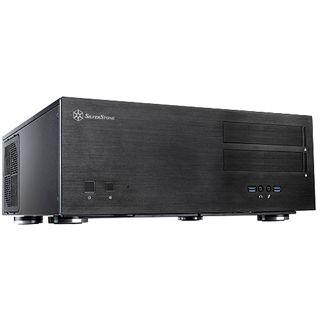 Silverstone Grandia GD08B USB 3.0 Midi Tower ohne Netzteil schwarz