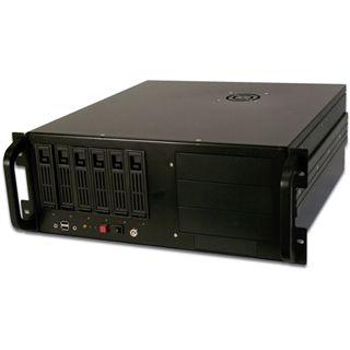 Servergehäuse Digitus IPC-Gehäuse 4HE schwarz ohne Netzteil