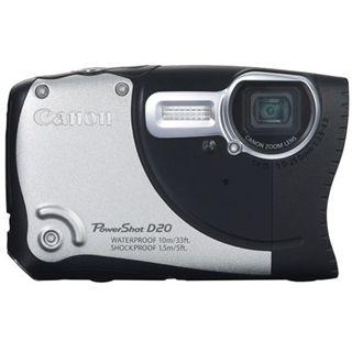 Canon PowerShot D20 schwarz/silber