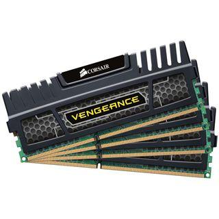 32GB Corsair Vengeance schwarz DDR3-1600 DIMM CL9 Quad Kit