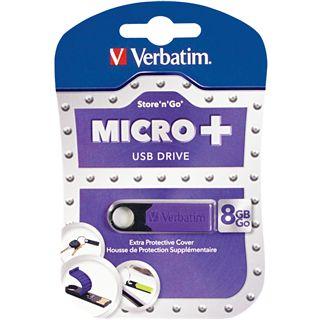 8 GB Verbatim Drive lila USB 2.0