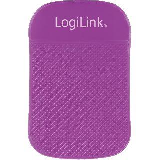 Logilink Anti Rutsch Matte für Notebooks/Tablets violett