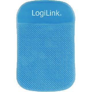 Logilink Anti Rutsch Matte für Notebooks/Tablets blau