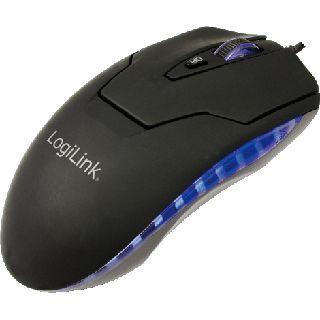LogiLink Laser Mouse USB schwarz (kabelgebunden)