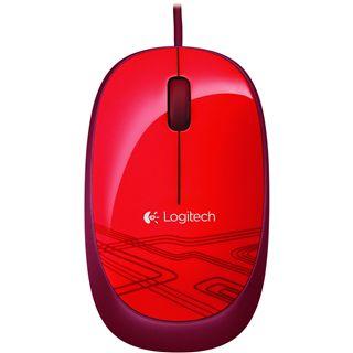 Logitech M105 USB rot (kabelgebunden)