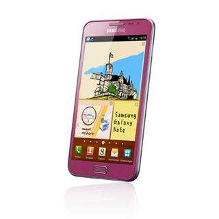 Samsung Galaxy Note N7000 pink
