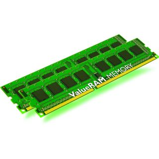 16GB Kingston ValueRAM Intel DDR3-1066 regECC DIMM CL7 Dual Kit