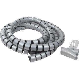 (€3,16*/1m) Good Connections 2.50m Spiralschlauch 25mm Grau