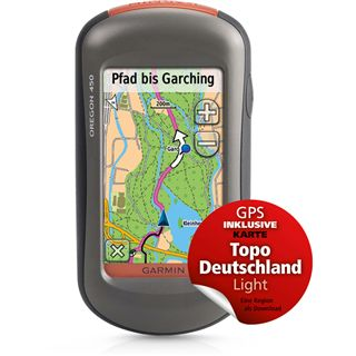 Garmin Oregon 450 inkl. Topo Deutschland