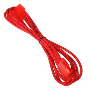 BitFenix Molex Verlängerung 45cm - sleeved red/red