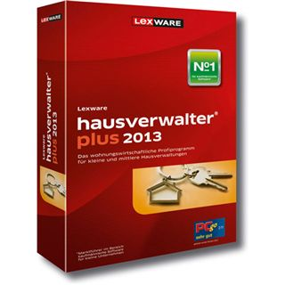 Lexware Hausverwalter Plus 2013 32/64 Bit Deutsch Office Upgrade PC (CD)