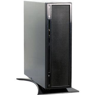 Inter-Tech X7 Firework Mesh ITX Tower 60 Watt schwarz