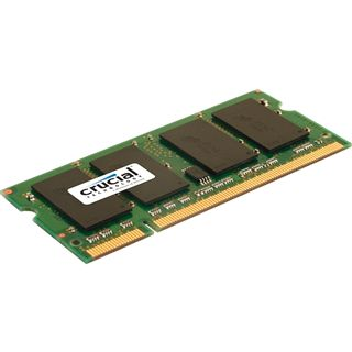 4GB Crucial Value DDR2-800 SO-DIMM CL6 Single