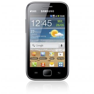 Samsung Galaxy Ace S6802 Duos 3 GB schwarz