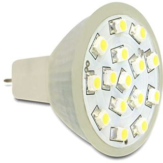 Delock Lighting 15x SMD Kaltweiß GU4 A