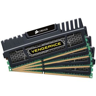64GB Corsair Vengeance Black DDR3-1600 DIMM CL9 Octa Kit
