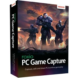 Corel Roxio Game Capture Multilingual Grafik Vollversion PC (DVD)