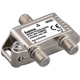 Hama AB/SAT-Prioritätsschalter