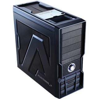 LC-Power Gaming 973B Fortress_X Midi Tower ohne Netzteil schwarz