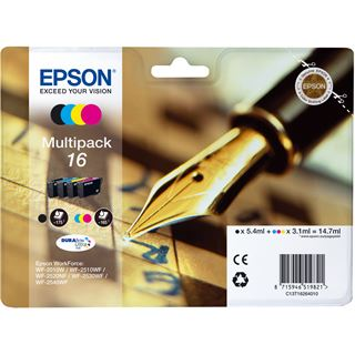 Epson Tinte C13T16264010 schwarz, cyan, magenta, gelb