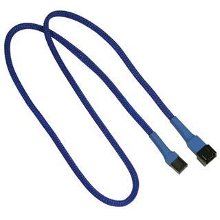 Nanoxia 60 cm blaues Verlängerungskabel für 3-Pin Molex