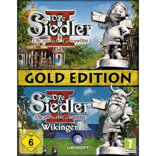 Ubisoft GmbH Siedler 2: DNG Gold-Edition (PC)
