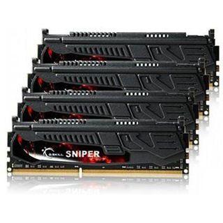 32GB G.Skill SNIPER DDR3-1600 DIMM CL9 Quad Kit