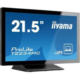 "21,5"" (54,61cm) iiyama ProLite T2234MC-B1 Touch schwarz 1920x1080 1xVGA/1xDVI"