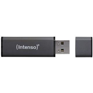 8 GB Intenso Alu Line grau USB 2.0