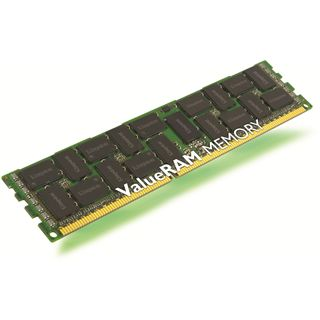 16GB Kingston ValueRAM Intel DDR3L-1333 regECC DIMM CL9 Single