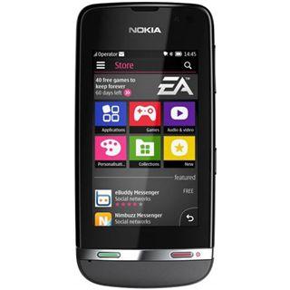 Nokia Asha 311 140 MB grau