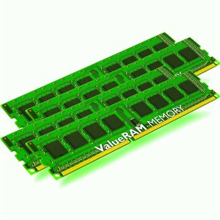 16GB Kingston ValueRAM DDR3-1600 ECC DIMM CL11 Quad Kit