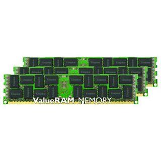 24GB Kingston ValueRAM Intel DDR3-1600 regECC DIMM CL11 Tri Kit