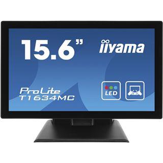 "15,6"" (39,62cm) iiyama ProLite T1634MC-B1 Touch schwarz 1366x768"