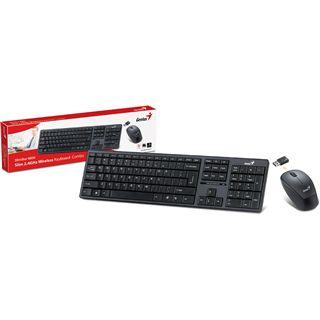 Genius SlimStar 8000 Deutsch USB schwarz