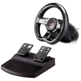 Genius Speed Wheel 5Pro USB schwarz/grau PC