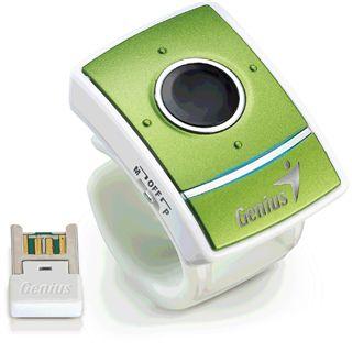 Genius Ring Maus USB gruen (kabellos)