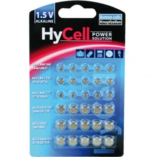 Ansmann - 1,5V Alkaline Knopfzellen - Batterie