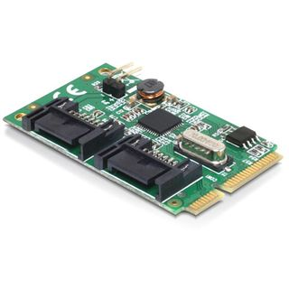 Delock 95233 2 Port PCIe 2.0 Mini Card retail
