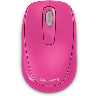 Microsoft Mouse 1000 USB pink (kabellos)